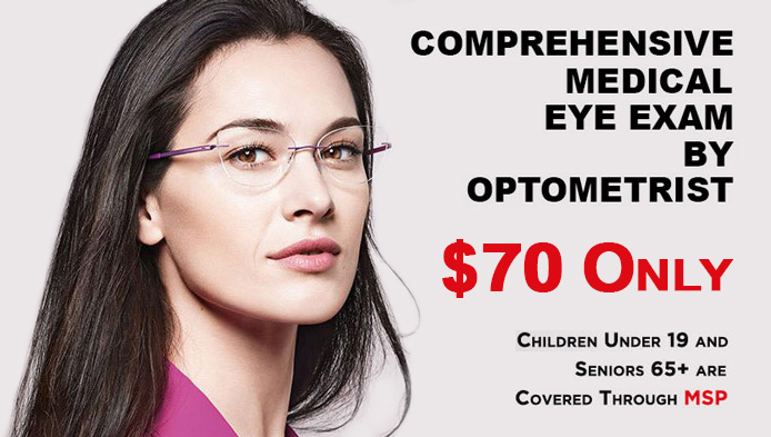 Medical Eye Exam Promotion